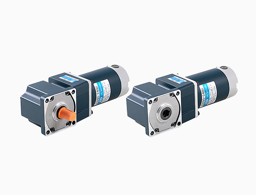 90W-90mm DC Spiral Bevel Right Angle Brush Gear Motor